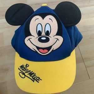 Disney Embroided Mickey Mouse  Cap